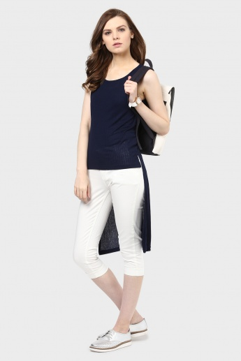 MAX Sleeveless Hi-Low Top