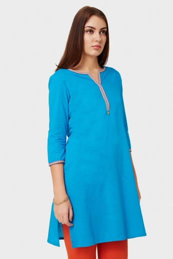 MAX Round Notch Neck Kurti