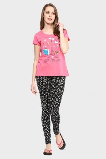 MAX Paris Theme Pyjamas Set