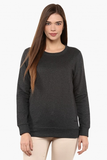 MAX Textured Full Sleeves Pullover