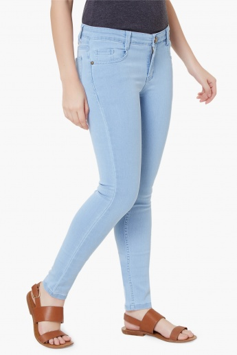 MAX Light Wash Skinny Jeans