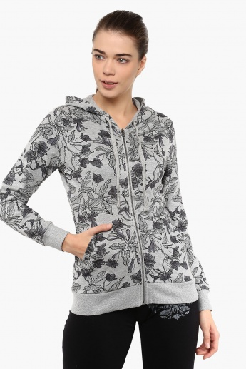 MAX Printed Zip-Up Hoody